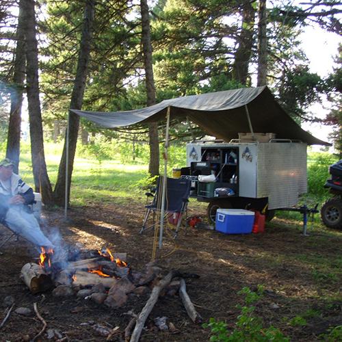 ATV-Camper